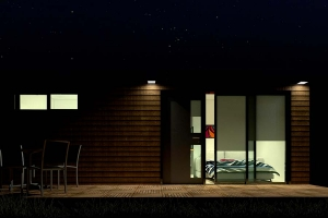 STEELWOOD | Container maritime aménagé en maison