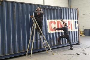 STEELWOOD | Container maritime transformé en studio