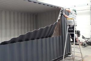 Atelier des conteneurs aménagés