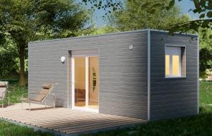 Container aménagé studio : STEELWOOD