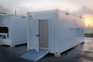 FRIGOTRADING : notre marque phare pour la location de stockage frigorifique mobile