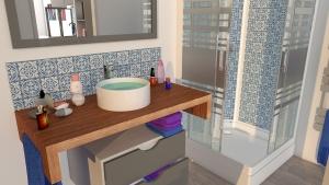 STEELWOOD | Container maritime aménagé en maison | Salle de bain