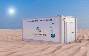 Frigo Trading : Containers frigorifiques ou chambres froides