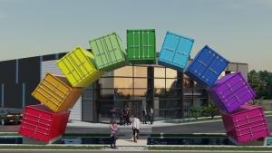 Bienvenue à CONTAINERLAND - Coworking - Containers maritimes aménagés
