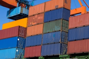 Stockage containers maritimes