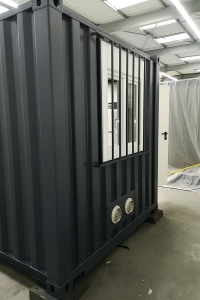 Aménagement conteneur maritime | Site de production