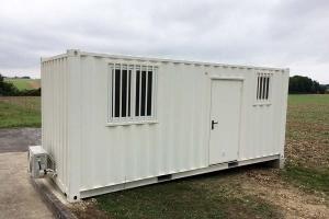 Conteneur de chantier | Aménagement conteneur 20 pieds | Base de vie