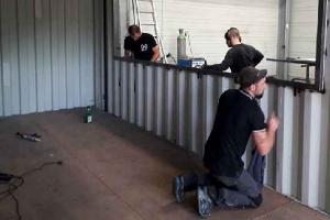 Container d'occasion | Aménagement container en cours