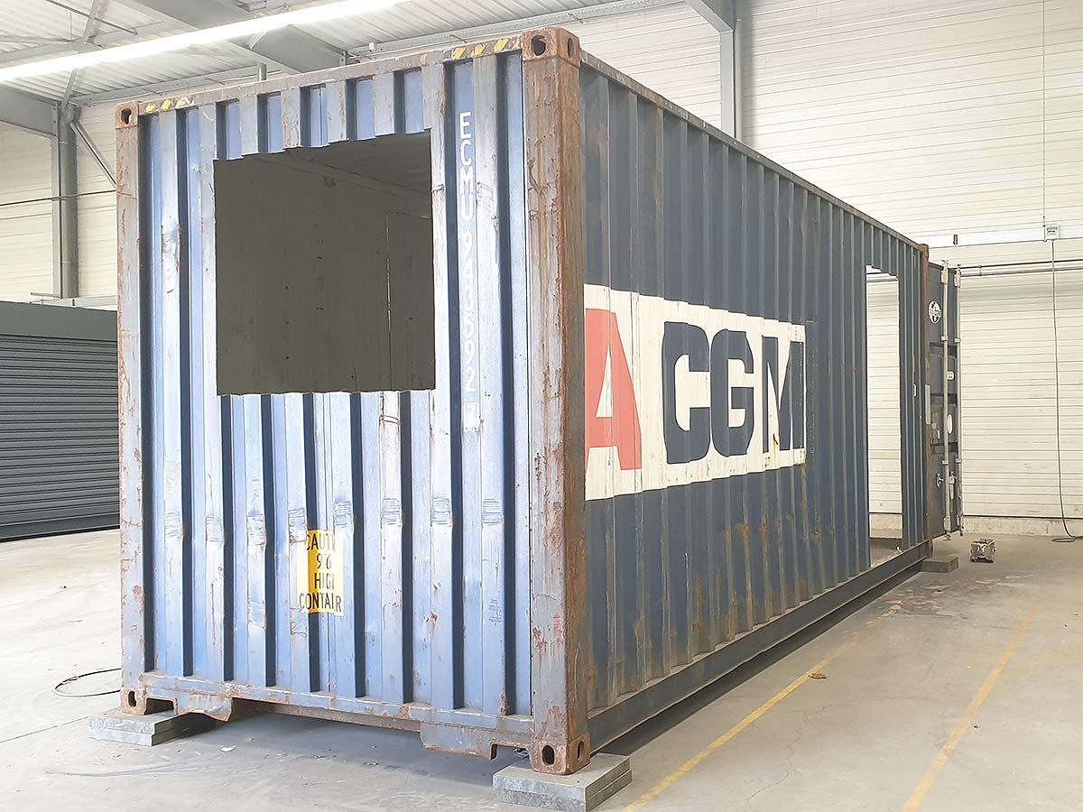 Container Aménagé Studio Prix hébergement | containerland.fr